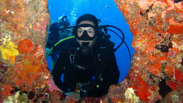 Diving around Khao Lak