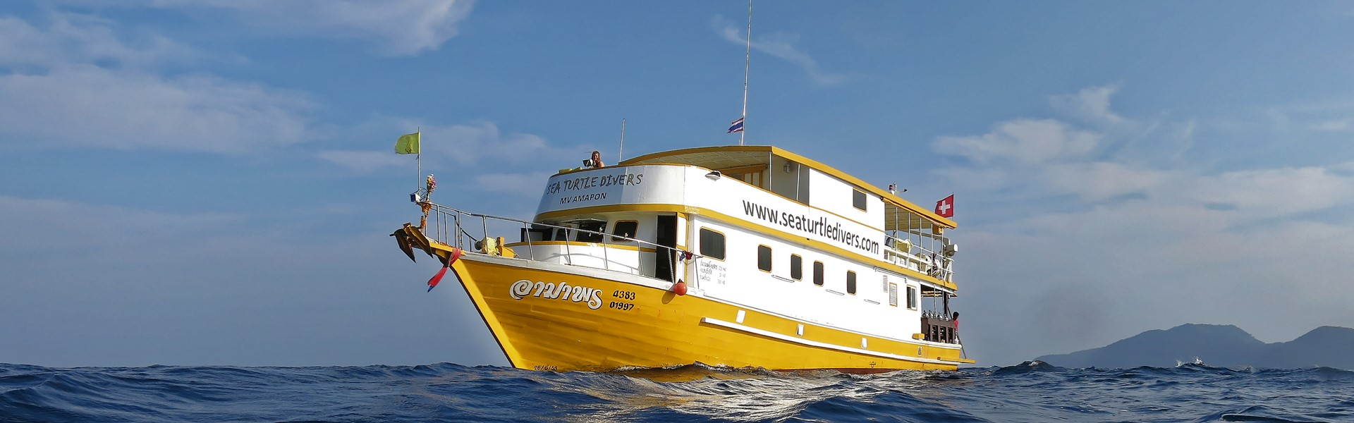 MV Amapon of the Sea Turtle Divers Khao Lak