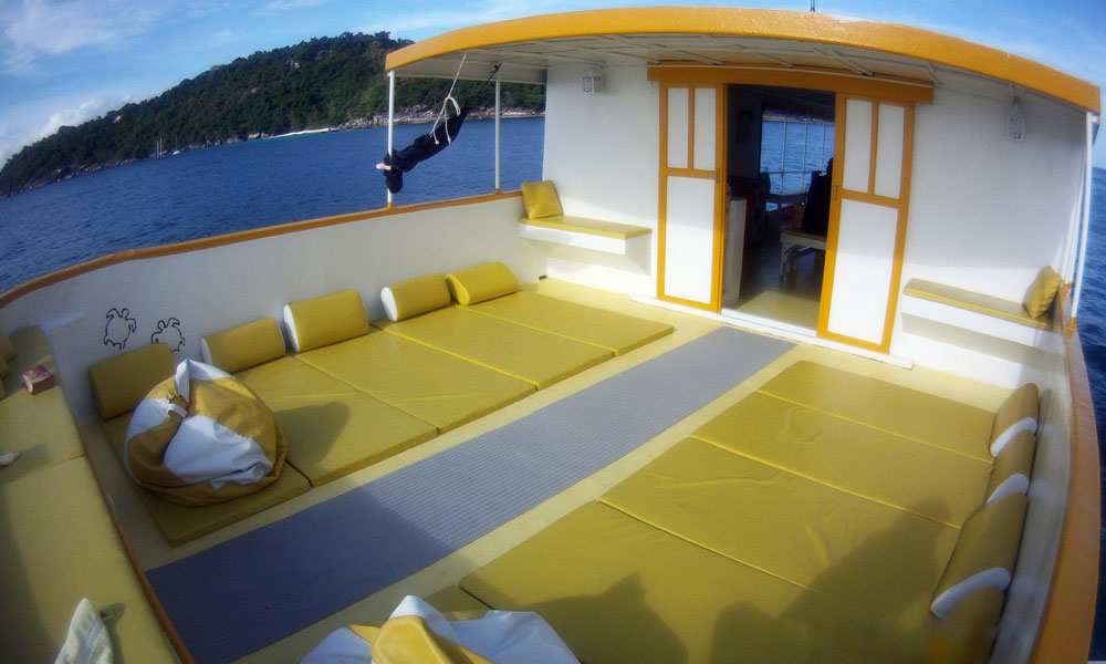 Das Schiff - An Deck
