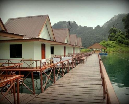 Khao Sok- Nationalpark - Schwimmende Bungalows auf dem Cheow Lan See