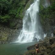 Der Wasserfall im Si Phang Nga Nationalpark