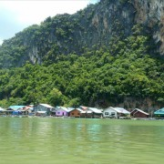 The people in Phang Nga Bay live in a deep relationship with the sea
