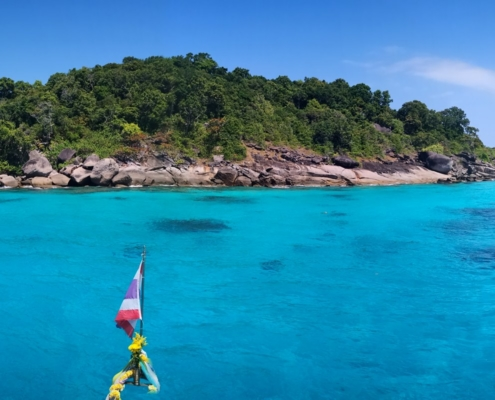 Similan Islands vor der MV Amapon