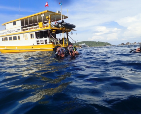 Sea Turtle Divers Liveaboards Thailand MV Amapon